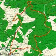 Wanderung Dreifürstenstein-Wanderroute