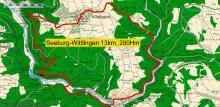 Wandertour von Seeburg nach Hohen Wittlingen