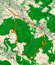 Weilstetten-Gräbelesberg-Wandertour